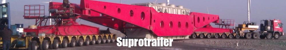 Girder bridge trailer