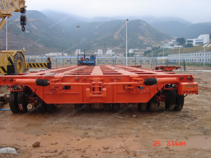 3 files hydraulic modular trailer