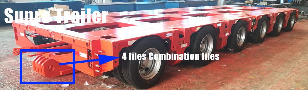 Hydraulic modular trailer for sale